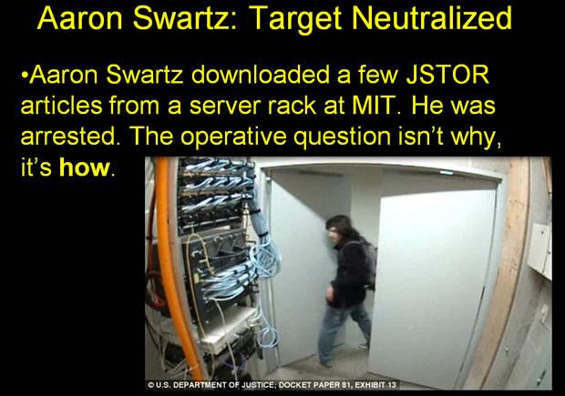 Aaron Swartz JSTOR