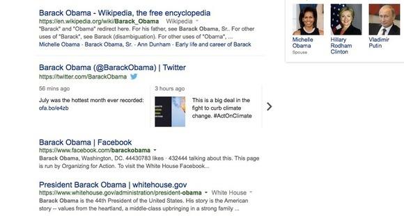 barack obama tweets