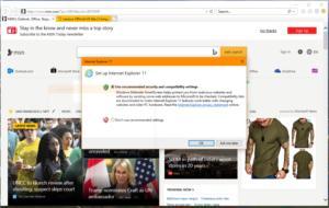 Microsoft internet explorer 1