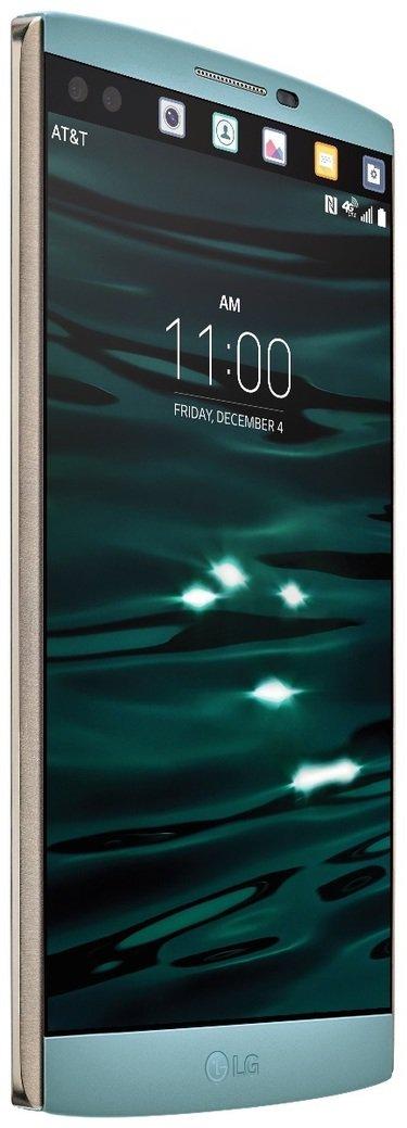 LG's V10 smartphone
