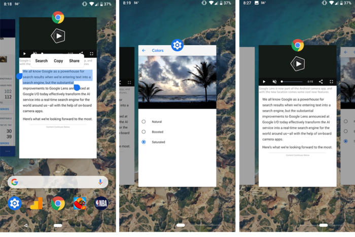 android p gestures2