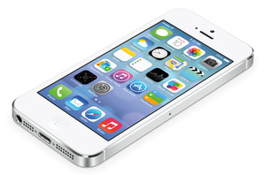 iPhone 5 with iOS 7