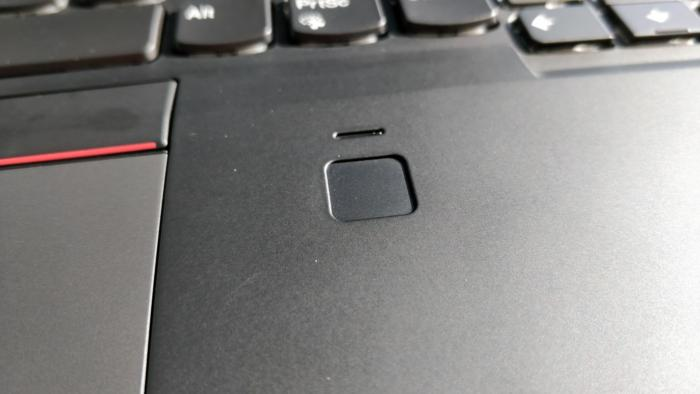 Lenovo ThinkPad X1 Carbon 6th Gen fingerprint reader