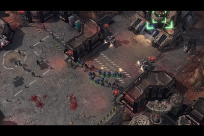 We got the chance to play StarCraft 2: Wings of Liberty's single player campaign.