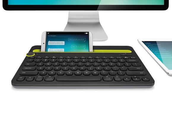 photo logitech bluetooth multi device keyboard k480