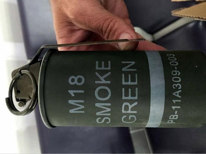 8b tsa art smoke grenade