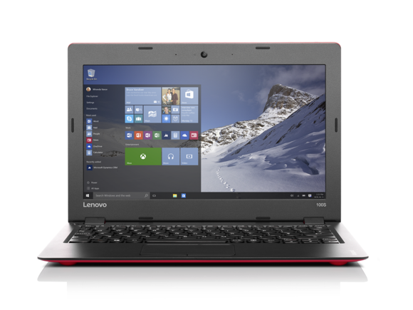 lenovo ideapad 100s 11 inch red