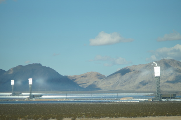 ivanpah running solar power