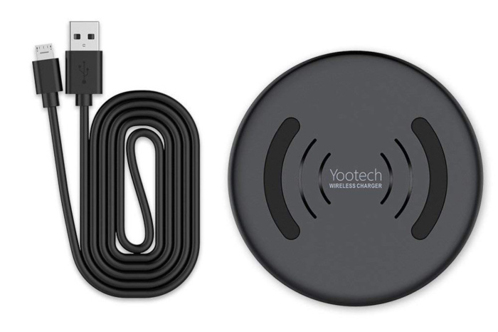 yootech wireless charger with charging cable