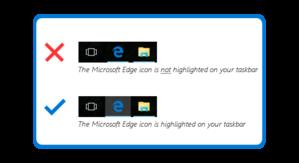 edge highlighted