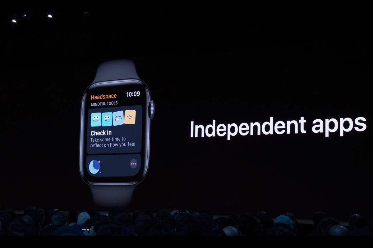 watch os 6 ind apps