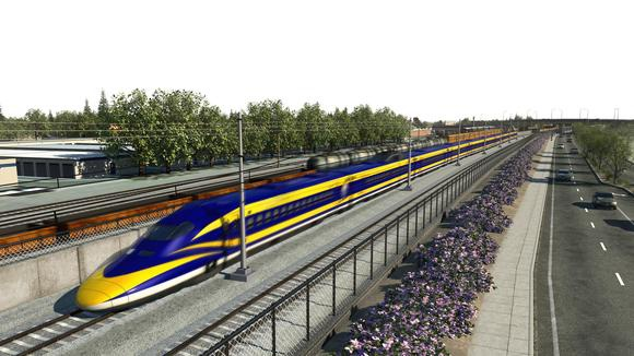 California High Speed Rail concept