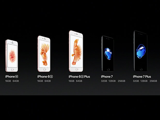 iphone lineup