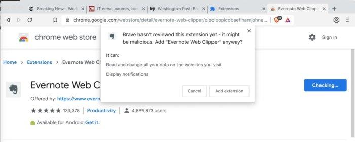 brave browser goes chromium