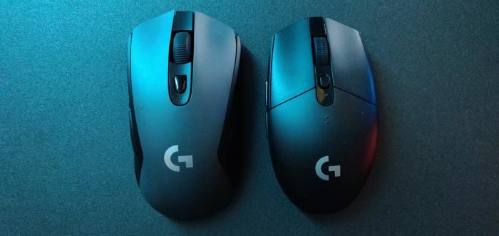 Logitech G305 and G603