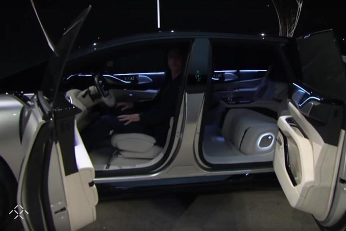faraday future ff91 inside