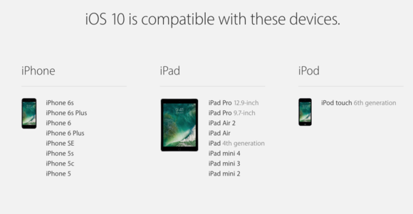 ios 10 compatibility