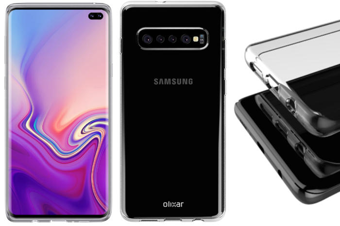 Samsung Galaxy S10 renders show hole-punch camera ...