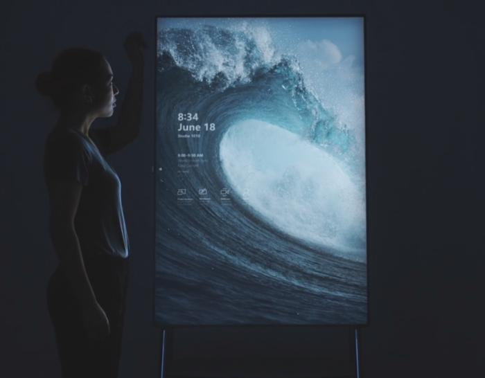 Microsoft surface hub 2 vid shot 1