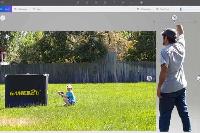 laser tag magic select Windows 10 Fall Creators Update