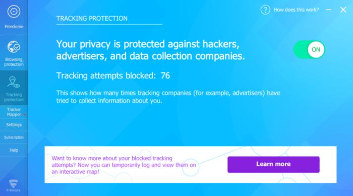 freedometrackingprotection