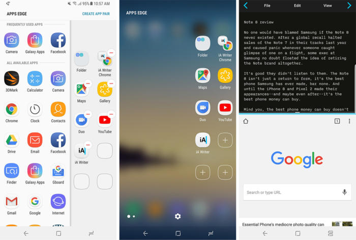 galaxy note 8 app pair
