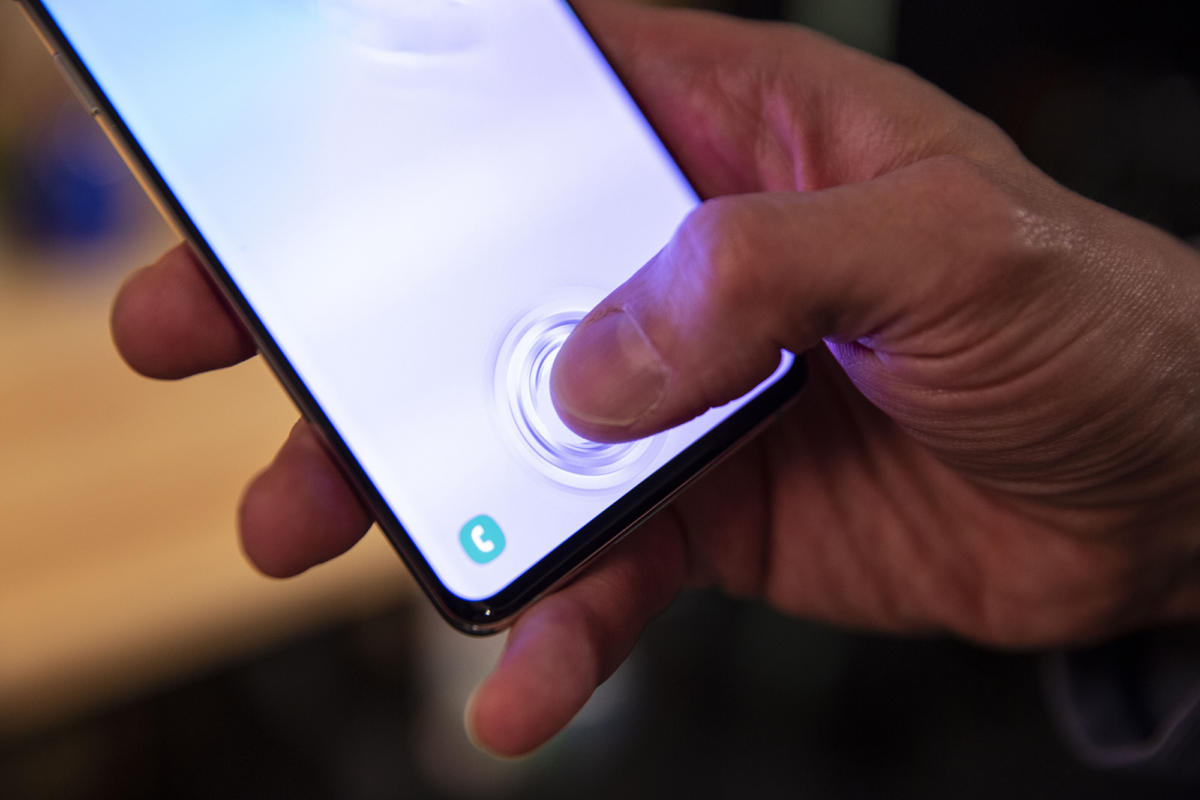 galaxy s10 fingerprint