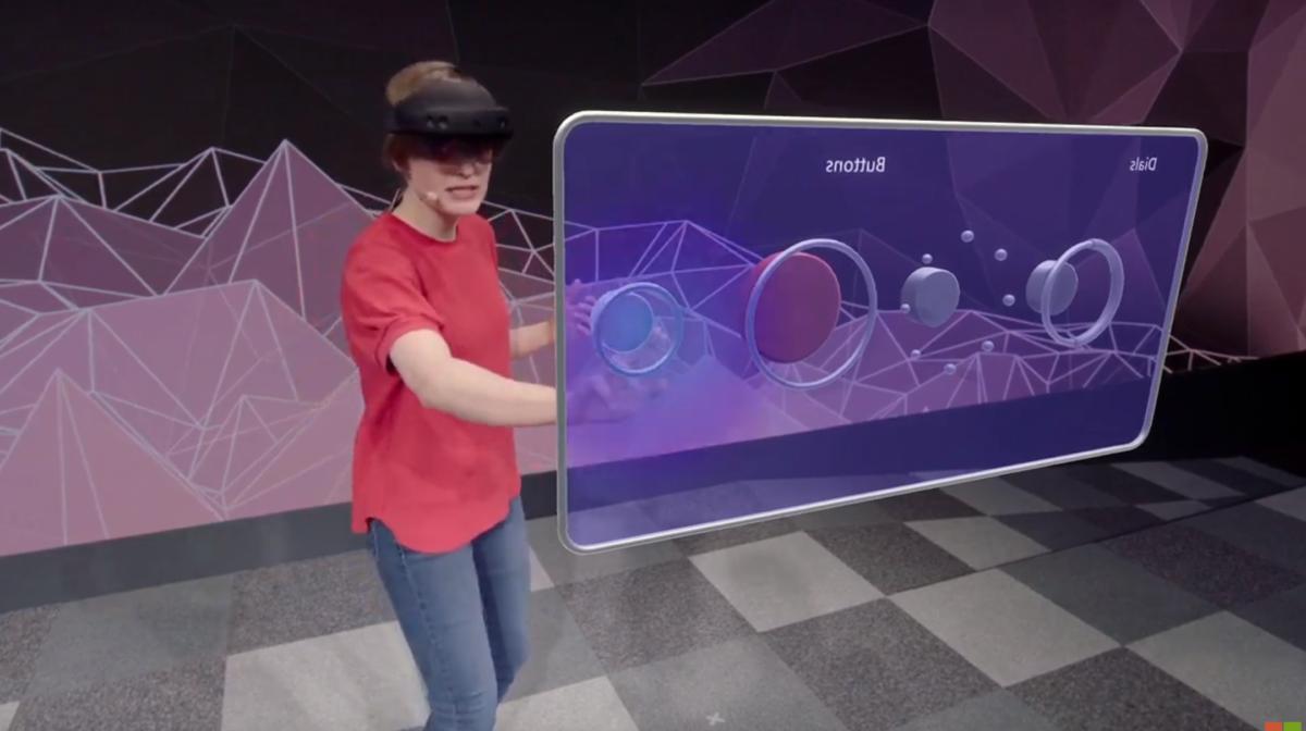 Microsoft HoloLens 2 hololens 2 buttons