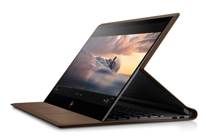 hp spectre folio display mode