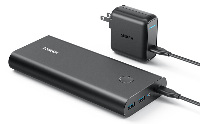 USB-C - Anker PowerCore+ 26800 PD battery pack