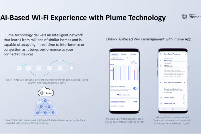 smartethings wifi with plume