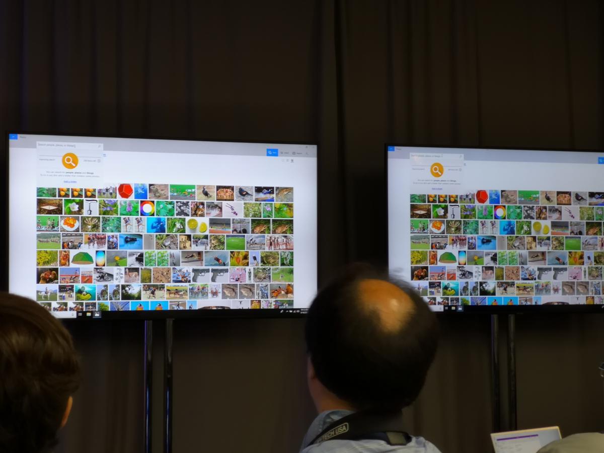 Microsoft Photos AI Ice Lake