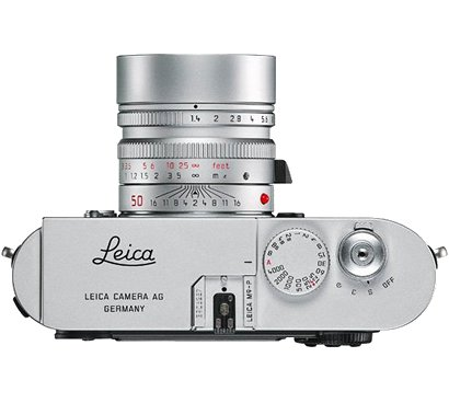 Leica M9-P chrome front
