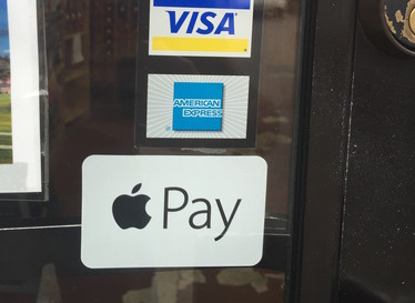 Apple Pay sticker
