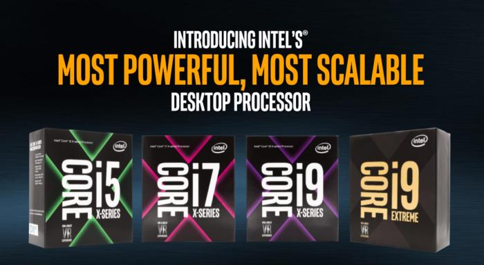 Intel core i9 family