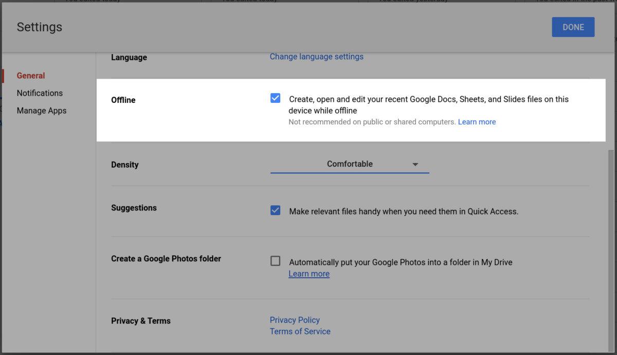 02 chromebook offline google docs