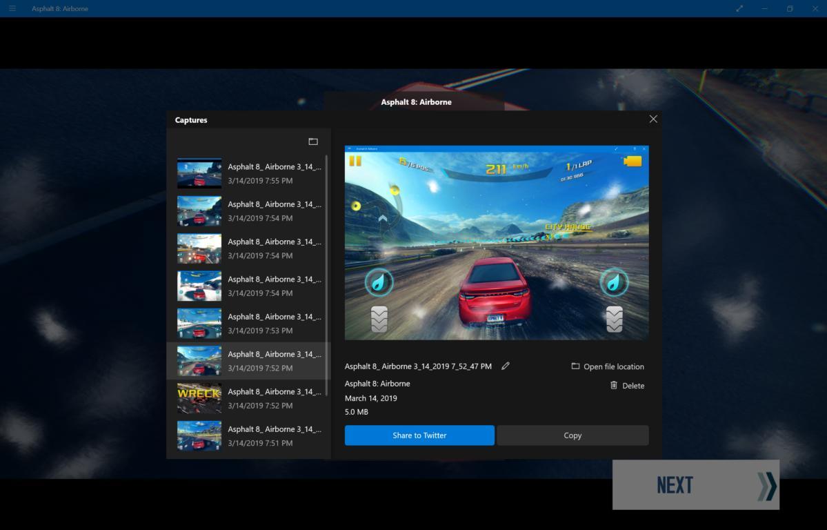 Windows 10 April 2019 Update hidden features  game bar