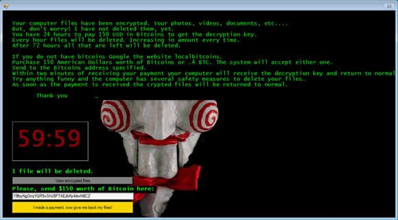jigsaw ransom note