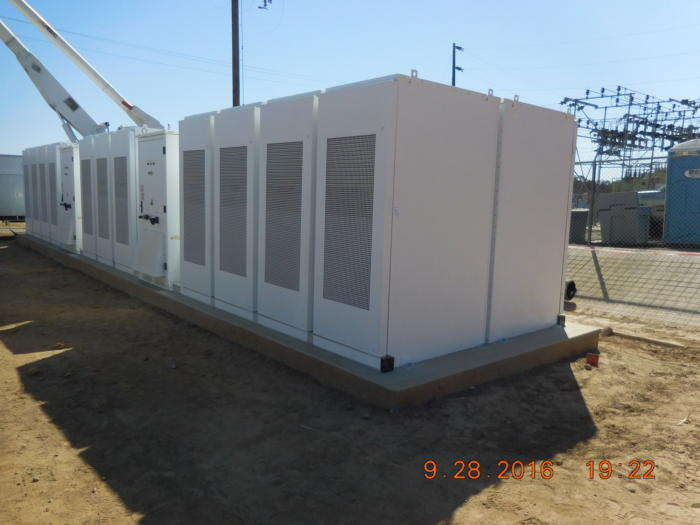 PG&E battery tesla