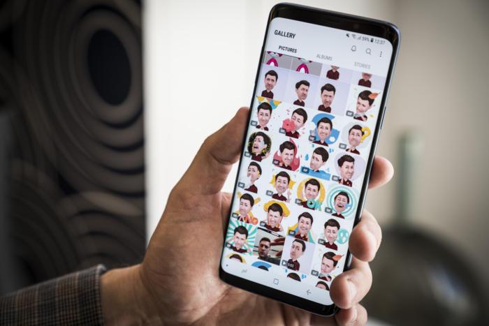 galaxy s9 ar emoji gallery