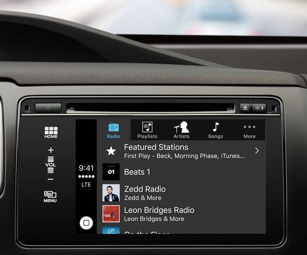 CarPlay music