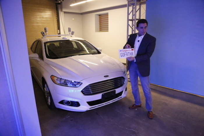 mark fields autonomous driving Ford