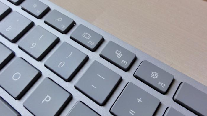 Microsoft Modern Keyboard dedicated keys