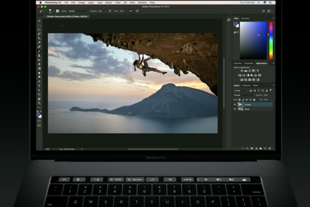photoshop touch bar 1
