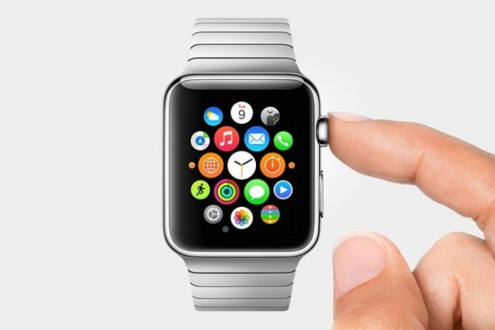 apple watch home finger