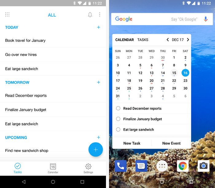 Android apps for organization Any.Do