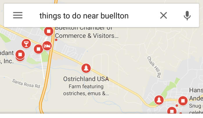 google maps thingstodo