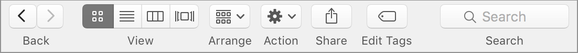 default buttons