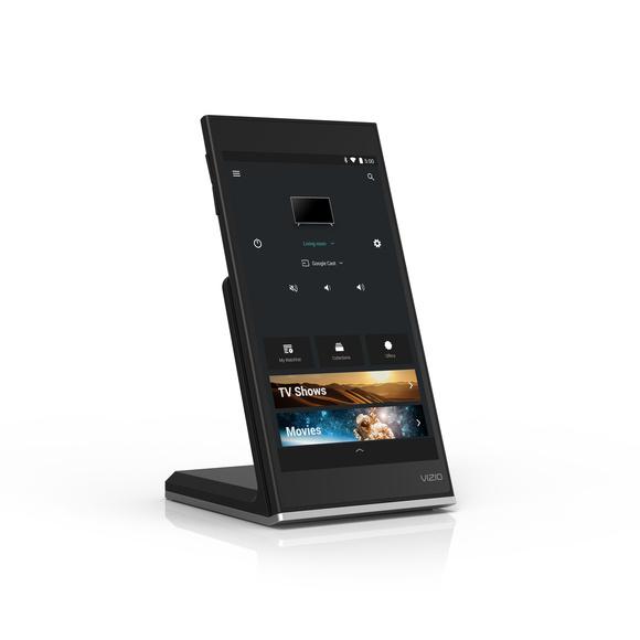smartcast p series tablet remote w wireless charging dock hero