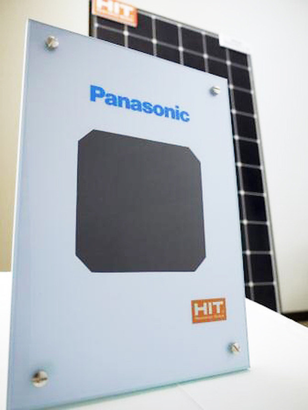 panasonic hit solar cell 01